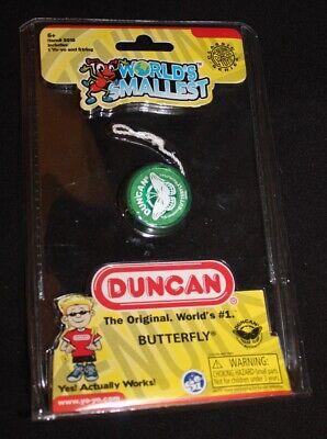 Miniature RETRO Toy NEW Blue Duncan Butterfly Yo-Yo World/'s Smallest