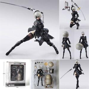 2 Type B PVC Figure Collectible Model Toy with Retail NieR Automata 2B YoRHa No