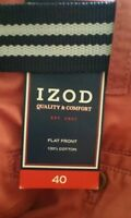 Izod Men's Casual Shorts 9 / Belted & Comfort Size 40 - 100% Cotton