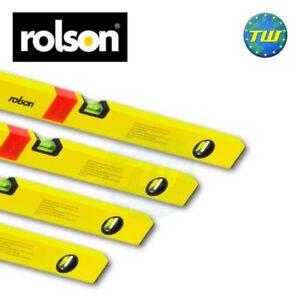 DéTerminé Rolson 4pc Quad Set Pack Double Milled Pro Box Beam Spirit Niveau 12 18 36 48in-afficher Le Titre D'origine