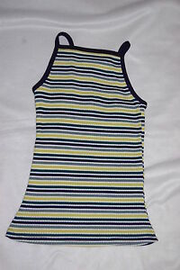 0ceb7611f33 Womens RUE 21 TANK TOP Wide Ribbed NAVY BLUE GREEN WHITE LIME ...