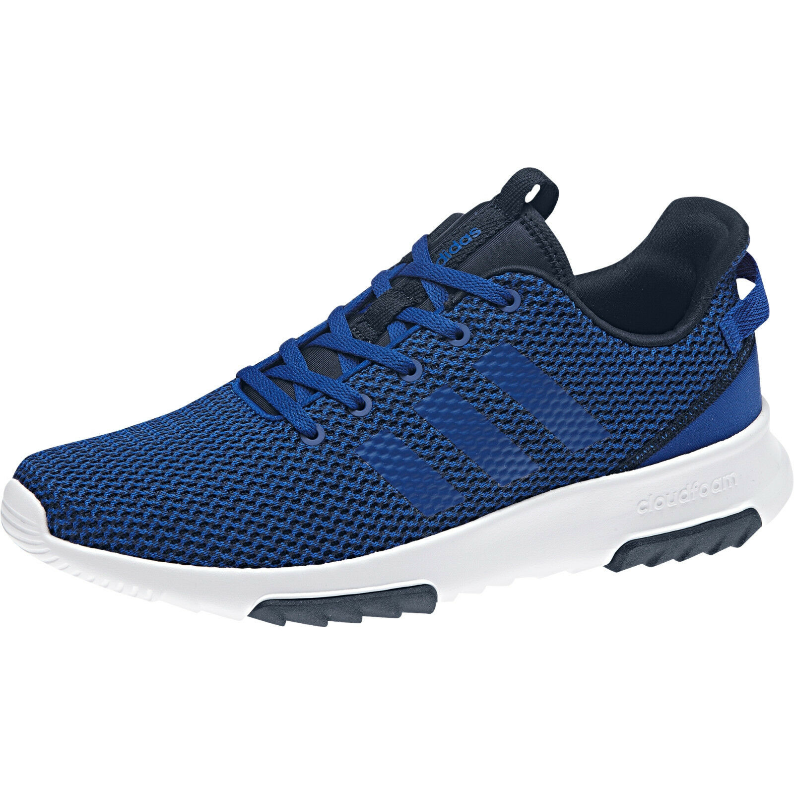 Adidas Neo Uomo Shoes Cloudfoam Racer TR Running Training Trainer Blue DB0691 New