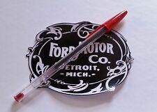 #35V Fomoco-Estilo Vintage Detroit Adhesivo Para Clásico Ford Mopar Muscle Car