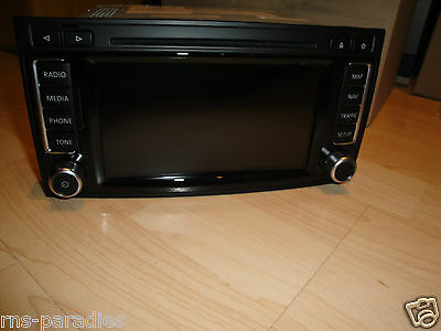 vw rns 510 navigation rns510 t5 transporteur dab 7e0035686a avec carte v15 ebay. Black Bedroom Furniture Sets. Home Design Ideas