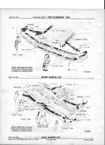1951 Plymouth Wiring Diagram