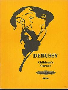 Debussy-Children-039-s-Corner-herausgegeben-von-E-Klemm