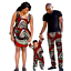 thumbnail 19 - Traditional African Family Clothing Matching Father Mother Son Baby Sets V11590