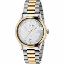261b38e0007 item 6 NEW Gucci G-Timeless Silver Dial Two Tone Stainless Steel Watch  YA126450 -NEW Gucci G-Timeless Silver Dial Two Tone Stainless Steel Watch  YA126450