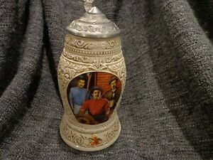 1998 ANHEUSER BUSCH COLLECTOR'S CLUB MEMBERSHIP STEIN CB7  OLD WORLD HERITAGE