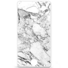 Coque Housse Etui Acer Liquid Jade S en Silicone Gel qualité FR - Marbre blanc