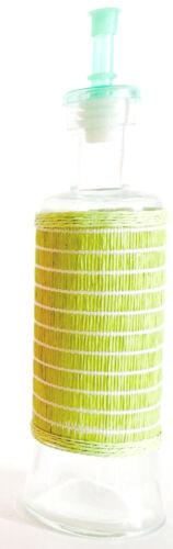 Oil Vinegar Glass Cruet Condiment Bottles Dressing Sauce Dispenser Color Choice