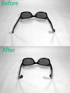 Eyeglass Frame Repair Kit : Plastic Eyeglass Frame Repair Kit Ray Ban Wayfarer ...