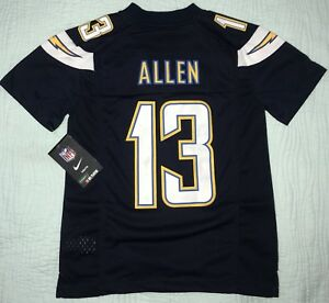 promo code 6f84d 8e0c5 Details about Nike Los Angeles Chargers Keenan Allen 13 NFL Blue Jersey Sz  S Youth Z1B7N4P9 KA