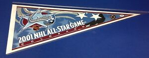 Luc Robitaille Rob Blake signed 2001 All-Star Game Pennant PSA/DNA Cert# X72330