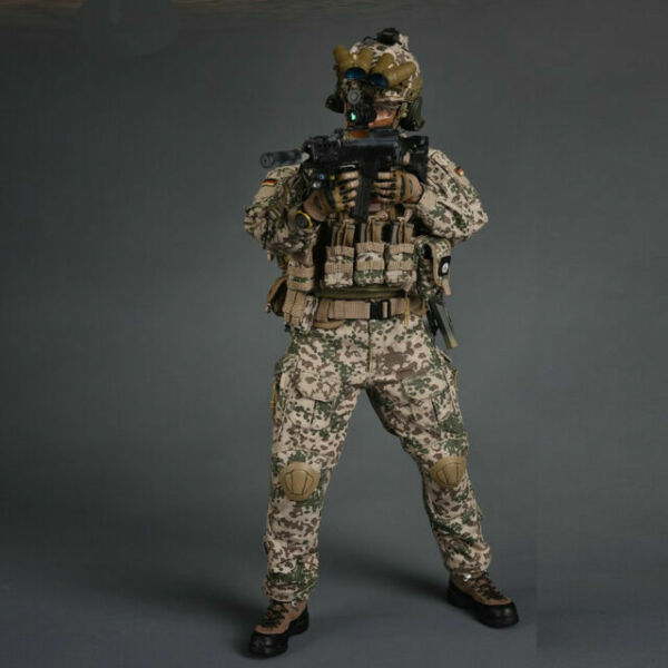 """1//6 Scale Soldier Story SS104 German KSM VBSS 12/"""" Action Figure Glasses Model"""