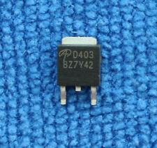 10pcs Aod403 D403 30v 70a 30v P Channel Mosfet To 252