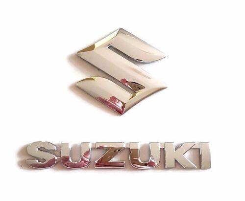 15,5cm x 2,1cm 2 x Original Emblem Badge Suzuki Splash Swift SX4  10cm x 10cm