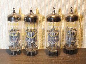 Details about 4pcs TESLA EF80 / 6BX6 NOS VACUUM TUBE TESTED