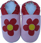 shoeszoo daisy pink 6-12m S soft sole leather baby shoes
