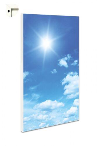 Magnettafel Pinnwand mit Motiv Blumen Natur Himmel Blau