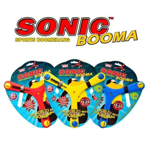 The worlds best outdoor boomerang 3 Pack Wicked Sonic Booma