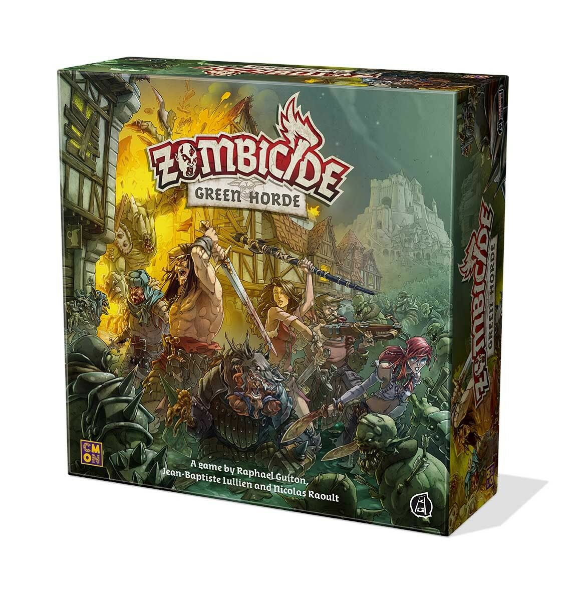 Zombicide Green Horde - Board Game By Cool Mini Or Not