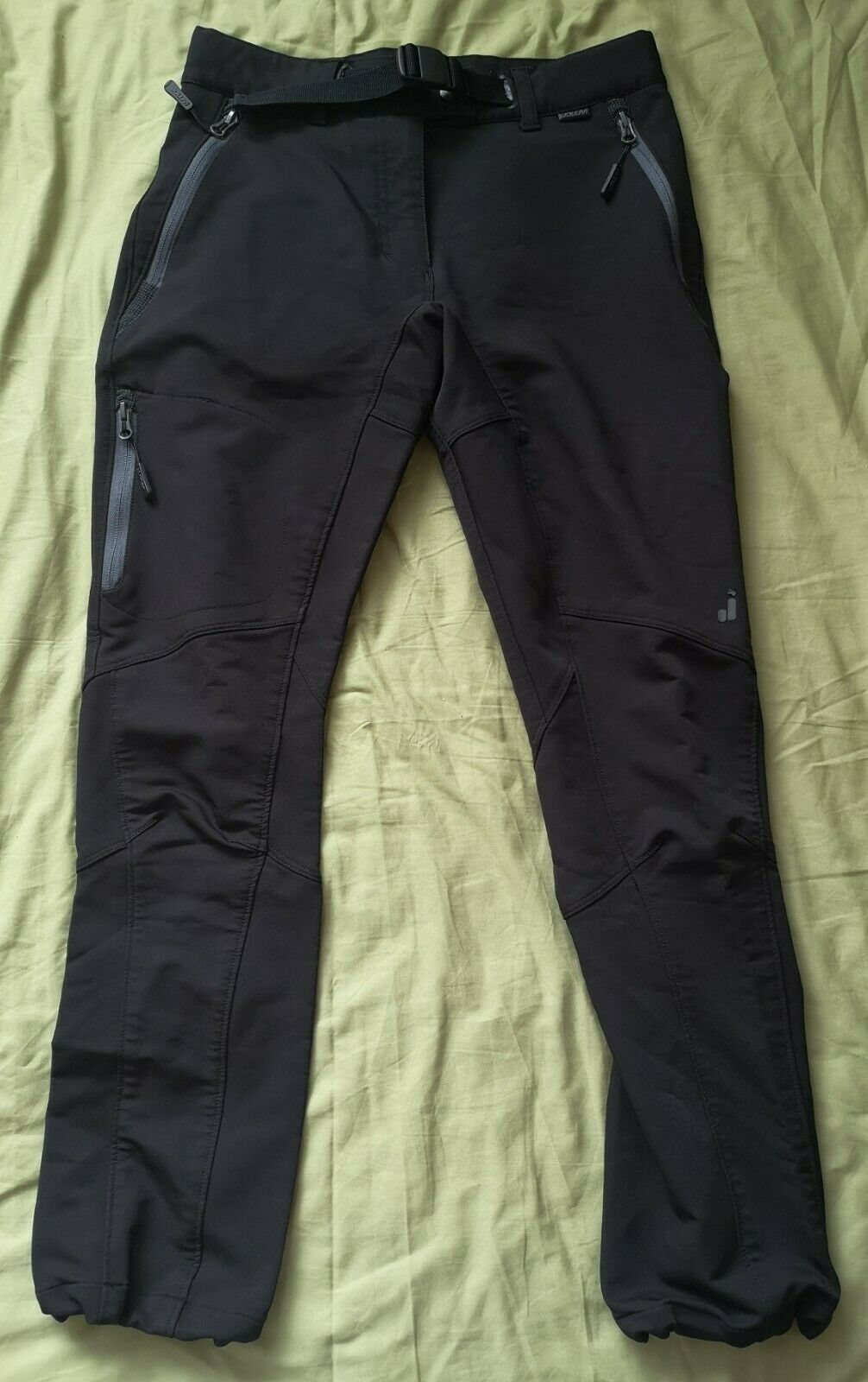 Joluvi Women's Black Outdoor Hiking Trousers Size XS Good Used Condition