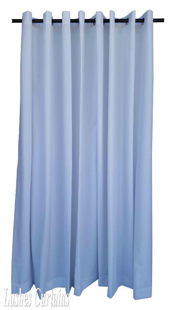 blanc 3m long rideaux velours velours velours Panneau W/ANNEAU œillet oeillets Haut de la page 86c556