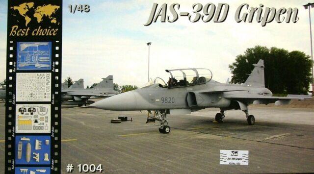 Avion de chasse Suedois JAS 39D  GRIPEN  - KIT MPM 1 48 n° BC1004