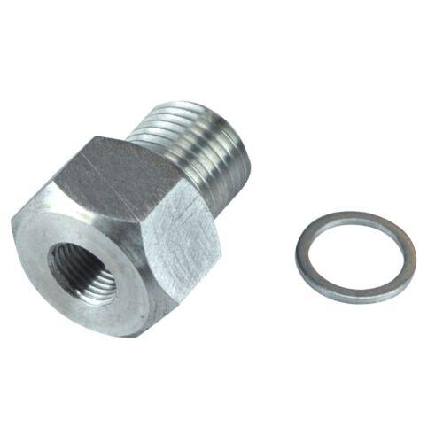 Oil Pressure Sensor Adapter LS Engine Swap Male M16x1.5 Female 1//8 NPT LS1 LS
