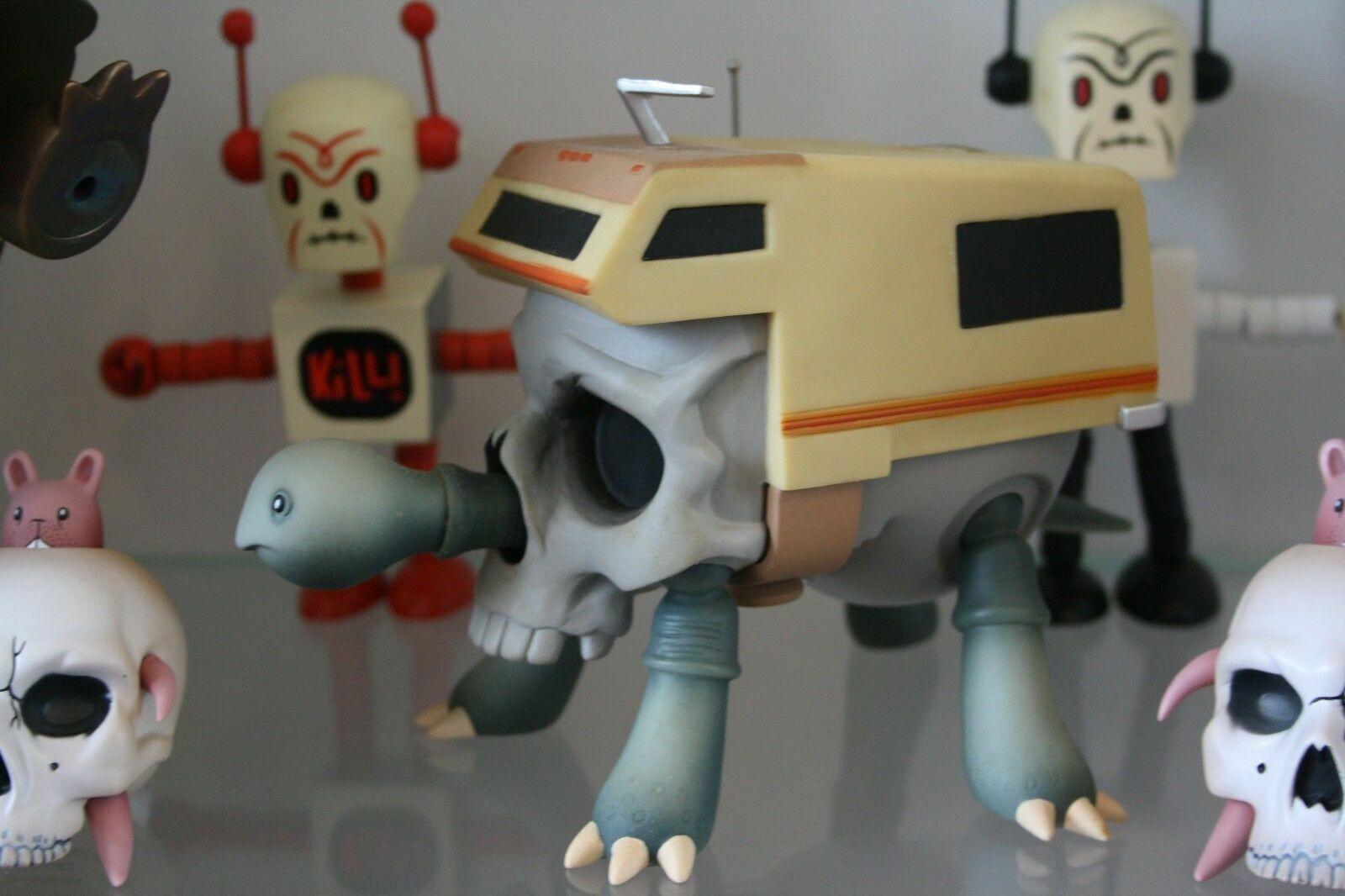 JEREMY FISH SKULL BUNNY 3  designer toy Ningyoushi Getsmall Getsmall Getsmall SF 2006 3ec31e