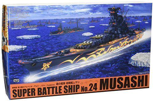 Aoshima Arpeggio Of azul Acero Pesado Batalla Barco Musashi