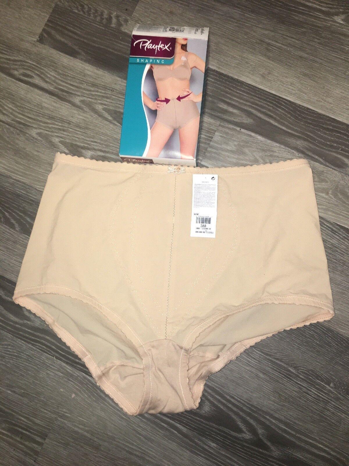 Ladies Playtex Shapewear P2522 New Boxed Skin Colour Beige Neutral Colour  XXXL
