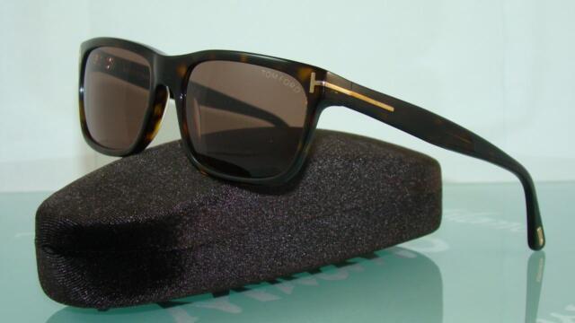 bf7090cbead Tom Ford Hugh TF0337 56J 337 Havana Sunglasses Sonnenbrille Brown Lens 55mm