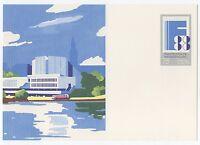 """alte DDR Ersttagspostkarte """"Philatelistische Weltausstellung Finlandia `88"""" /NEU"""