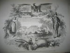 Gravure-1858-Comice-agricole-de-Romorantin