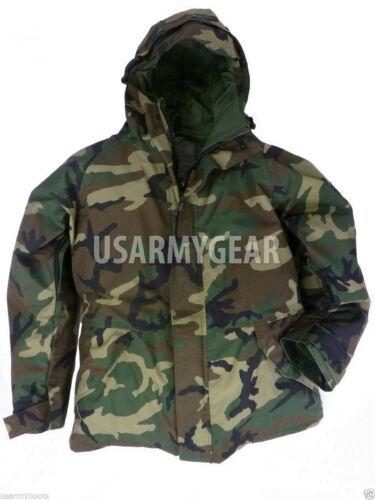 jack 1 Gen Wet Ecwcs Woodland Parka Army Waterdicht Weather Cold Goretex Ons J1TclFK