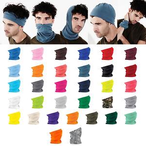 Mens Womens Scarves Morf Original Multi Use Headband Snood Hat Ski Scarf Neck