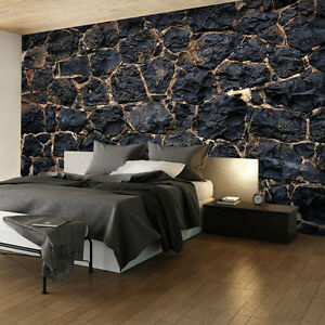 vlies fototapete steinoptik tapete steinoptik steinwand 3. Black Bedroom Furniture Sets. Home Design Ideas