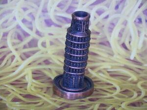 Leaning-Tower-of-Pisa-Replica-Pencil-Sharpener-Bronze-Color-Metal-Souvenir