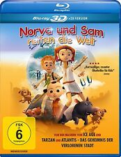 NORVA UND SAM RETTEN DIE WELT 3D/2D BD  BLU-RAY NEU