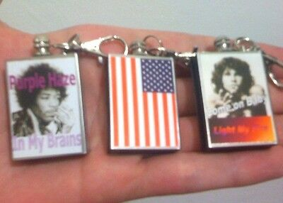 American Icons Lighters Camping Survival Reusable Match Fire Starter Key Clip