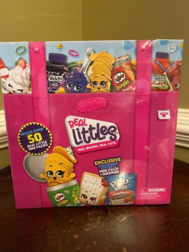NWT SHOPKINS Series 12 REAL LITTLES COLLECTORS CASE Includes Strawberry Poptarts