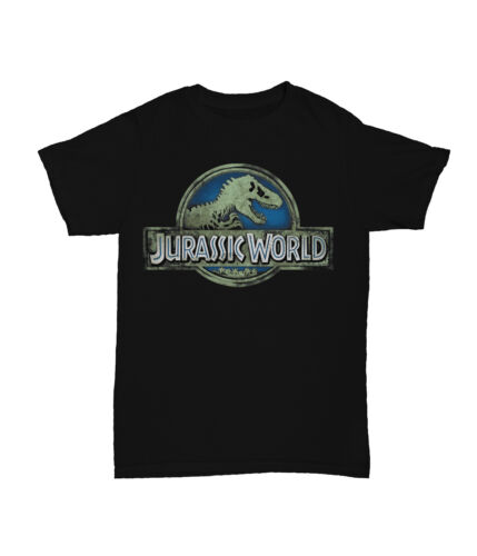 JURASSIC WORLD film di Dinosauro Ragazzi Bambini T-Shirt a Manica Corta Top