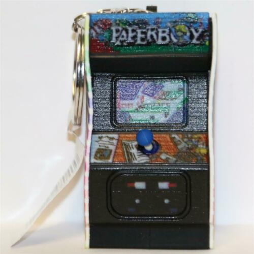3D Figural Key-ring MIDWAY CLASSIC ARCADE GAMES MONOGRAM PAPER BOY