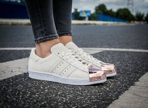 cream and rose gold adidas