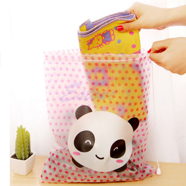 Cute Waterproof Cosmetic Bag Toiletry Pouch Makeup Storage Organizer Wash Case