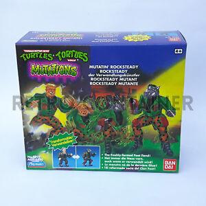 Tmnt Teenage Mutant Ninja Turtles - Nouvelles mutations Rocksteady Misb