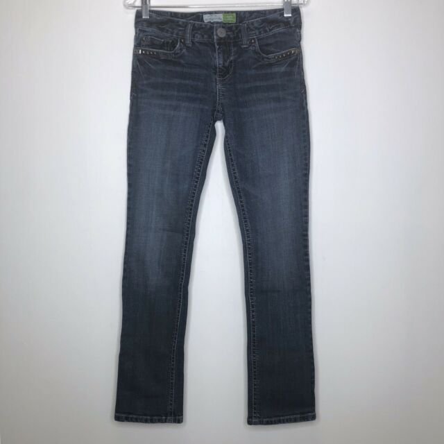 Aeropostale Bayla Women's Skinny Jeans Size 5/6 Regular Medium Wash Denim