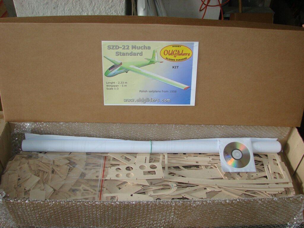 Oldgliders szd-22 Mucha KIT 1 3, 5m, KIT nuovo     nuovo     vendita all'ingrosso